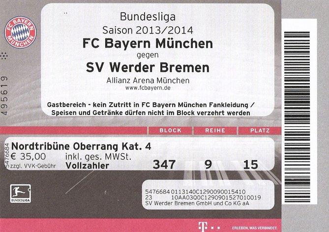 Bayern MГјnchen Besiktas Tickets