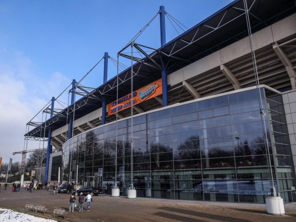 Schauinsland-Reisen-Arena (Außenansicht)