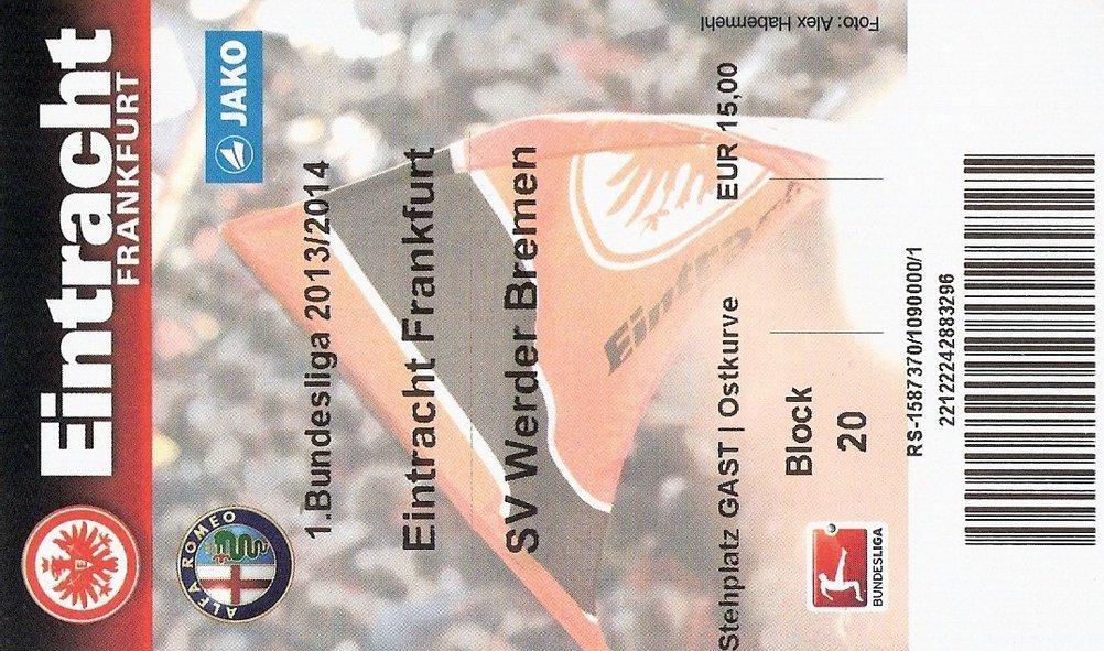 Ticket Eintracht Frankfurt