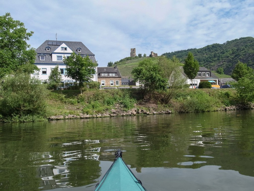 Burg Coraidelstein in Klotten