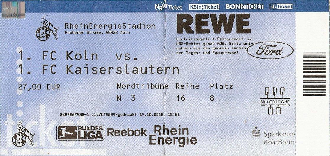 Fc Köln Tickets
