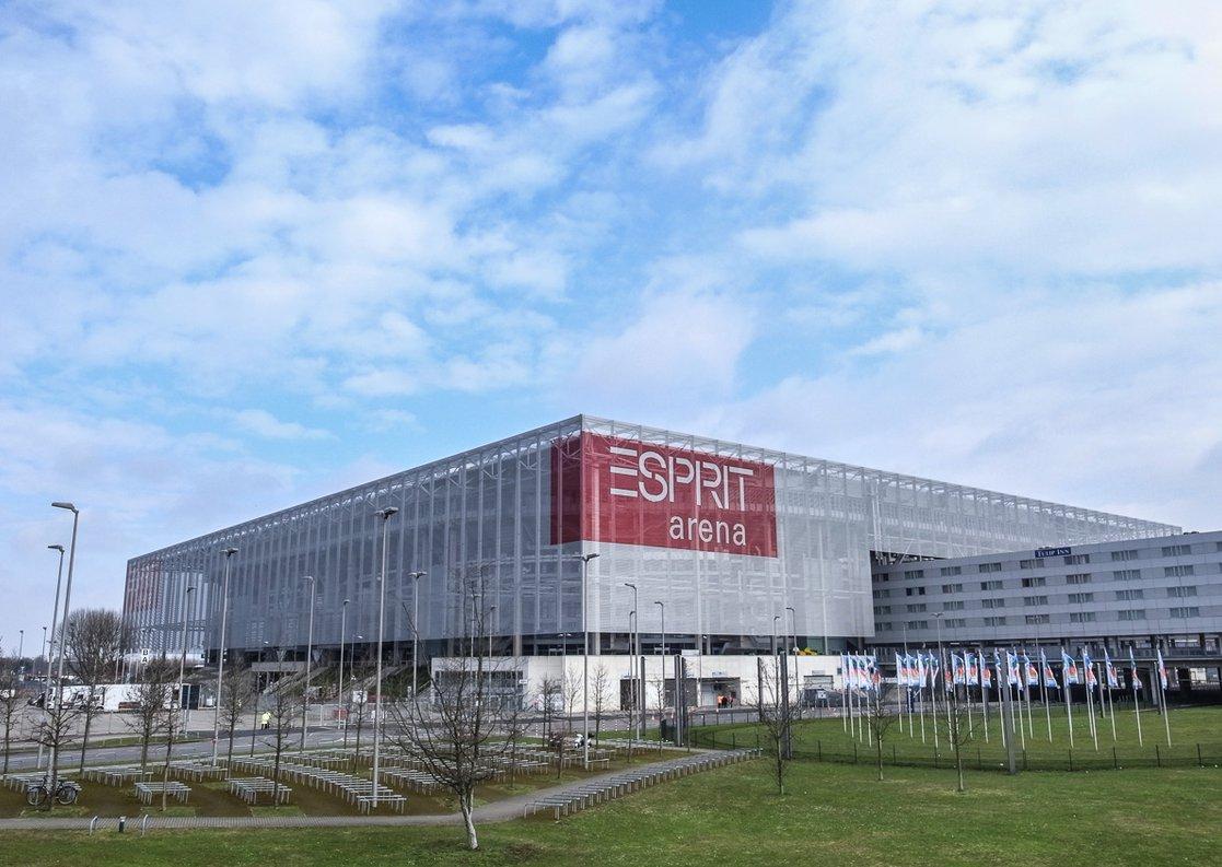 ESPRIT-Arena (Außenansicht)