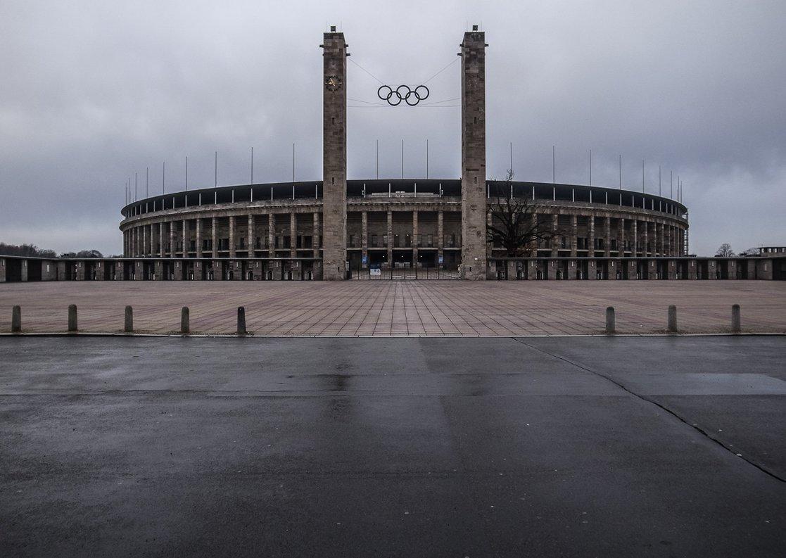 Olympiastadion Berlin (Außenansicht)