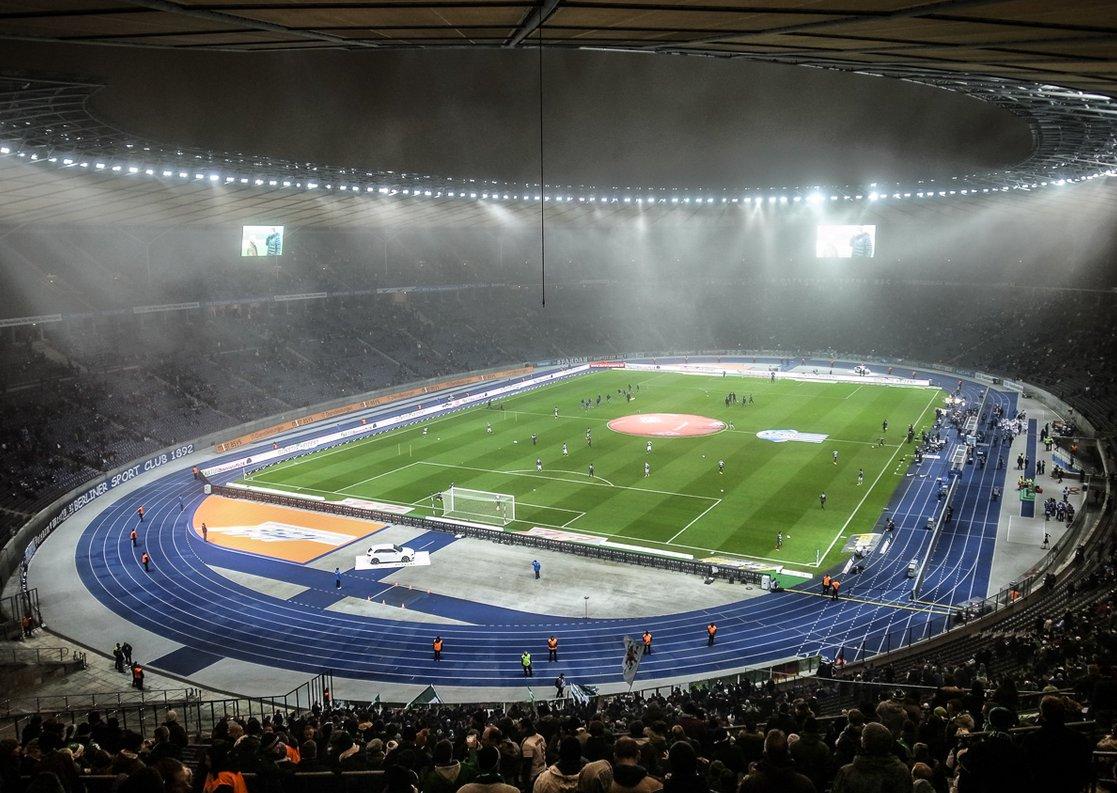 Olympiastadion Berlin (Innenansicht)