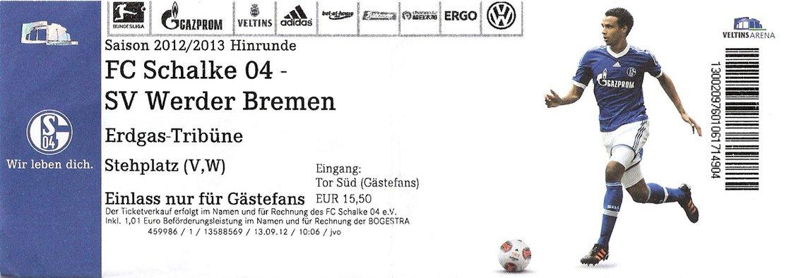 Ticket Schalke 04