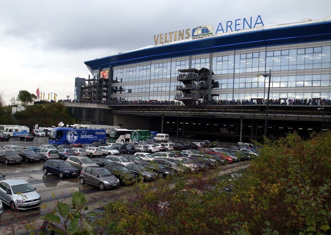 Veltins-Arena (Außenansicht)