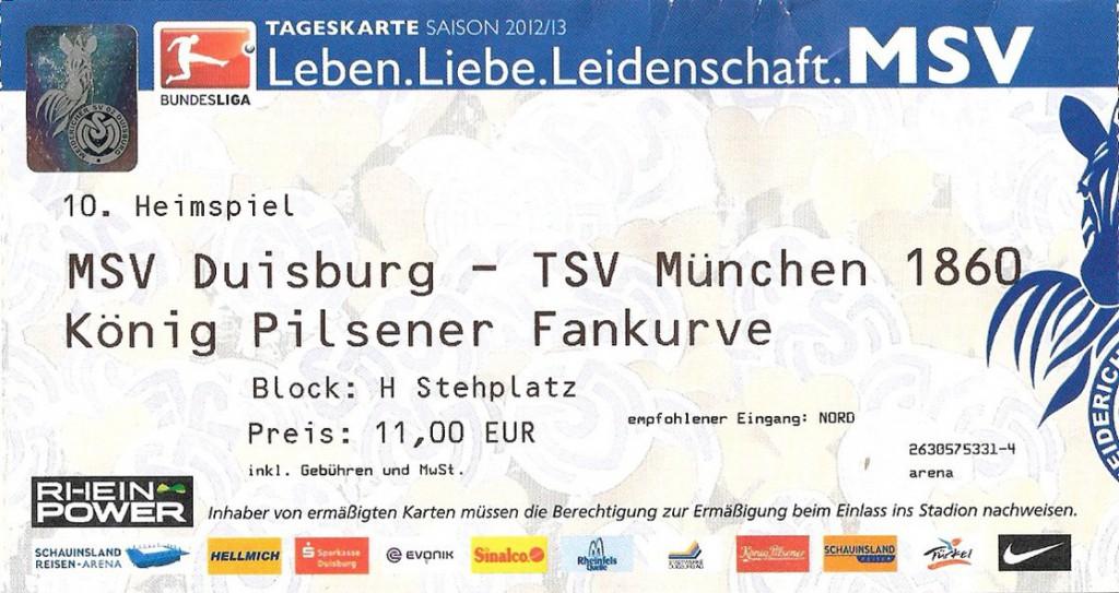 Schauinsland-Reisen-Arena (Ticket)