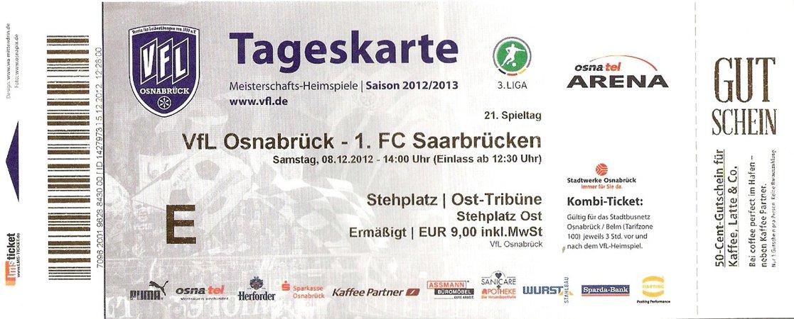 Vfl Osnabrück Tickets