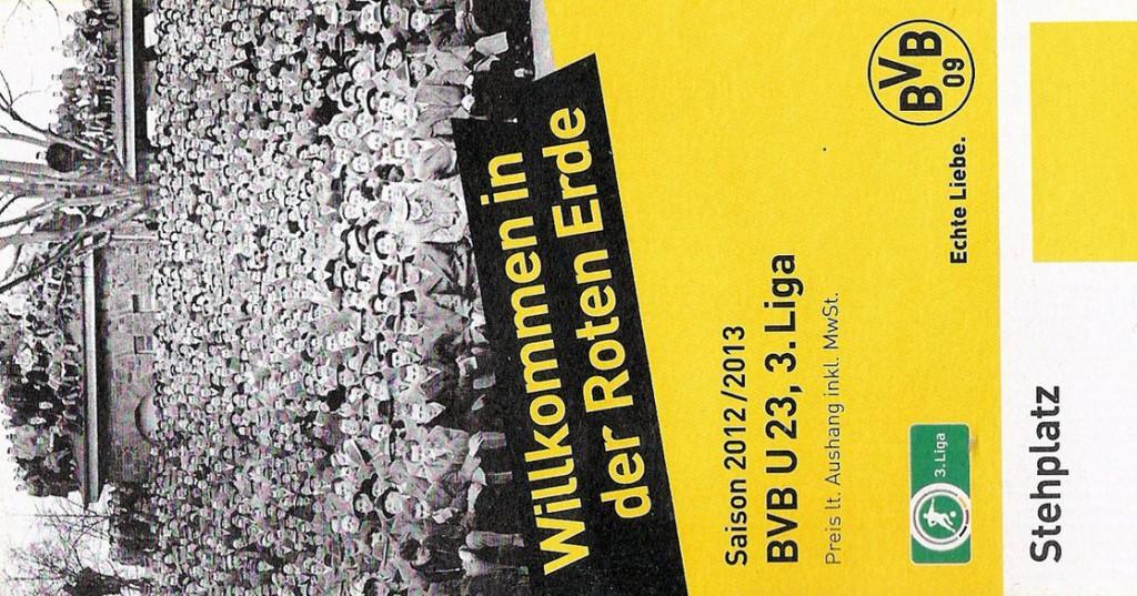 Ticket Borussia Dortmund II