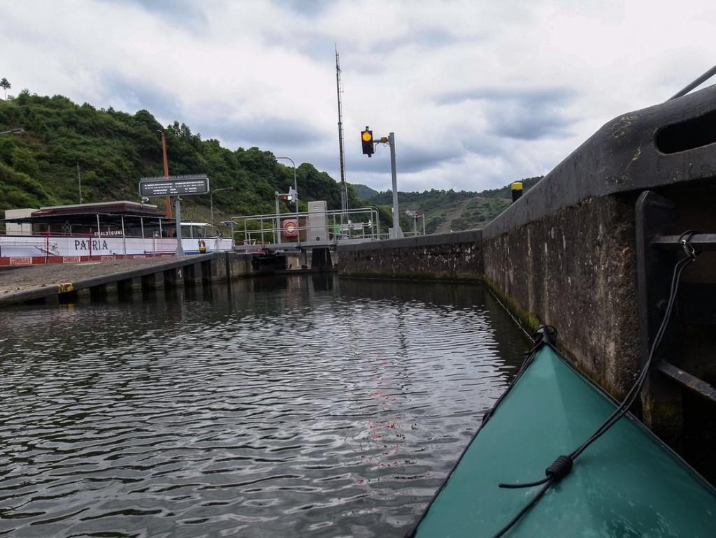 Schleuse für Sportboote