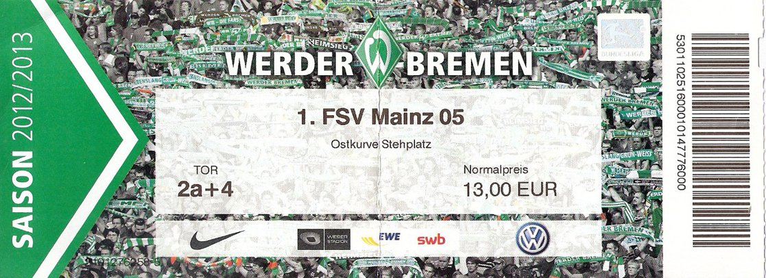Ticket Bremen