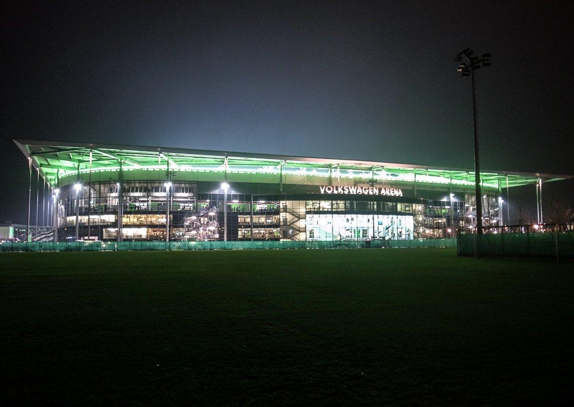 Volkswagen Arena (Außenansicht)
