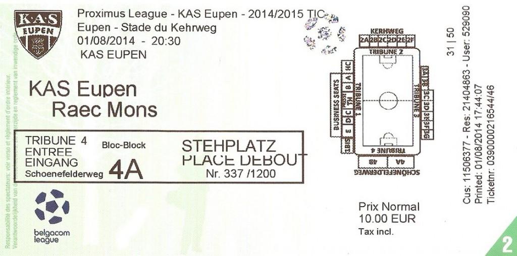 KAS Eupen (Ticket)