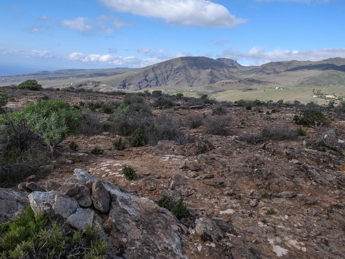 Aussicht vom Gipfel (Norden)