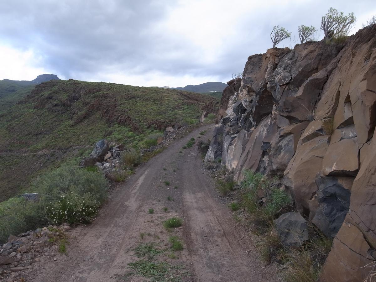 Abstieg hinter La Dama