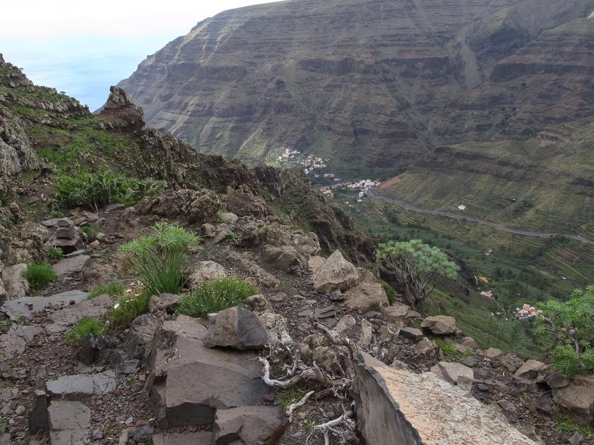 Abstieg nach Valle Gran Rey