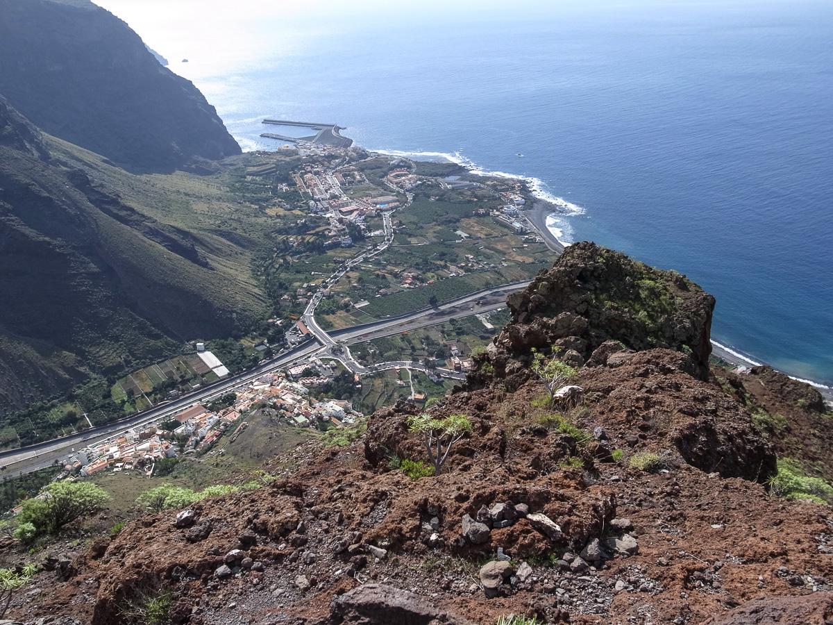 Valle Gran Rey von oben