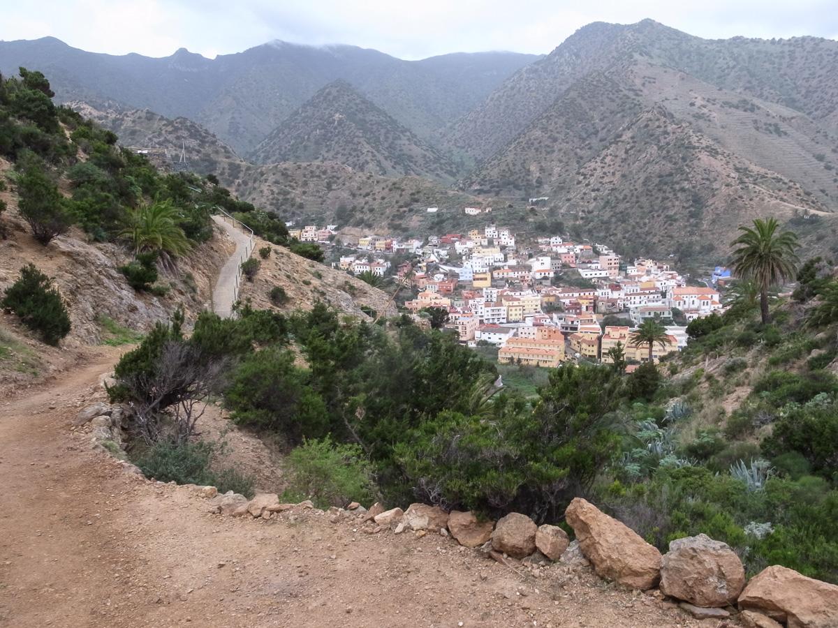 Aufstieg zum Roque Cano