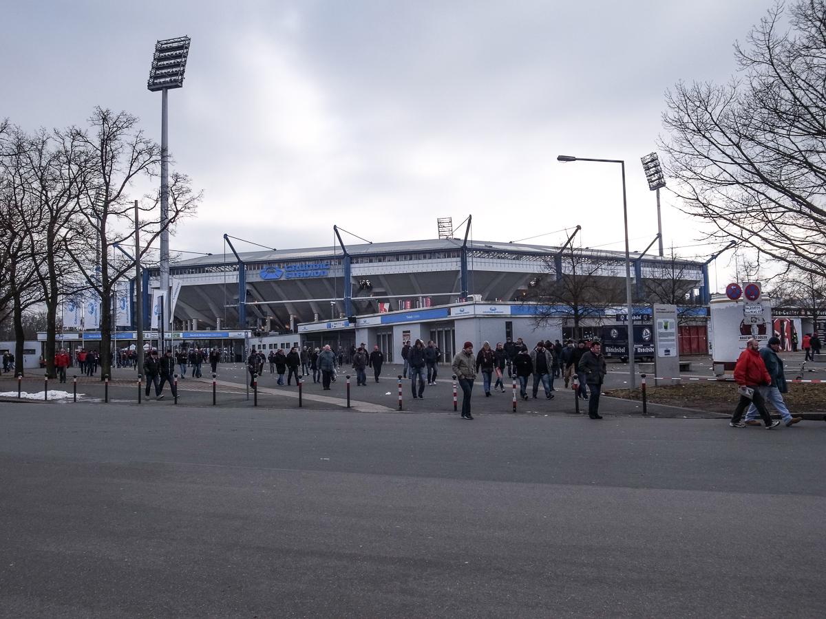 Grundig Stadion (Außenansicht)