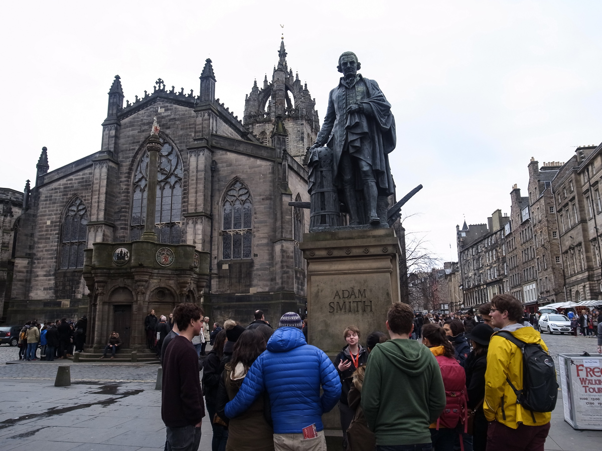Adam Smith Denkmal