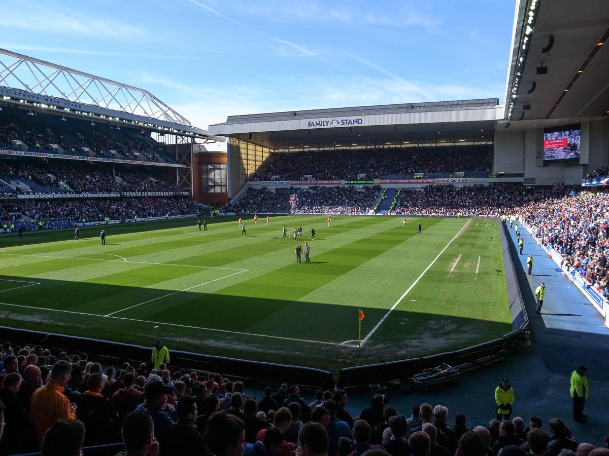 Ibrox Stadium (Innenansicht)
