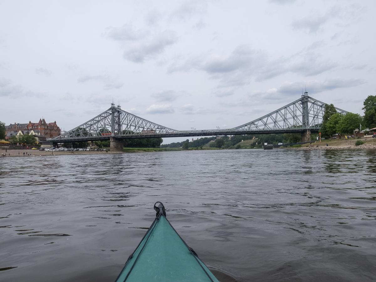 Blaues Wunder (Loschwitzer Brücke in Dresden)