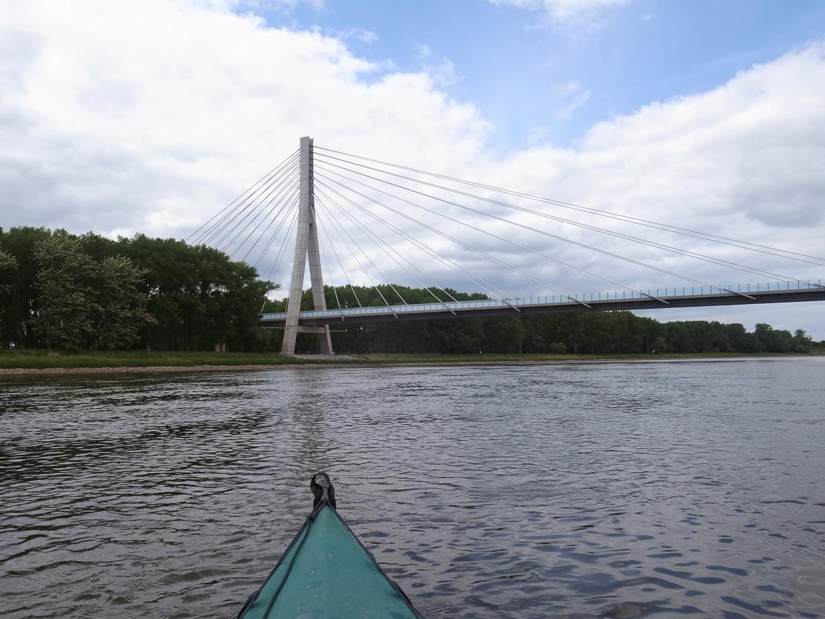 Elbauenbrücke bei Schönebeck