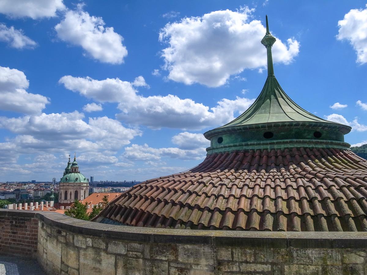 Ausblick von der Burganlage