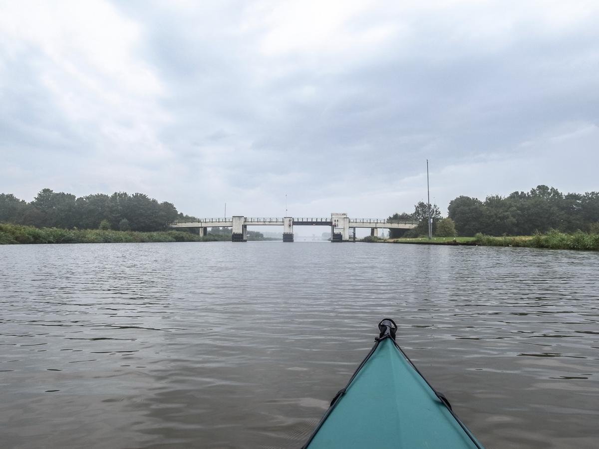 Auf dem großen Kanal