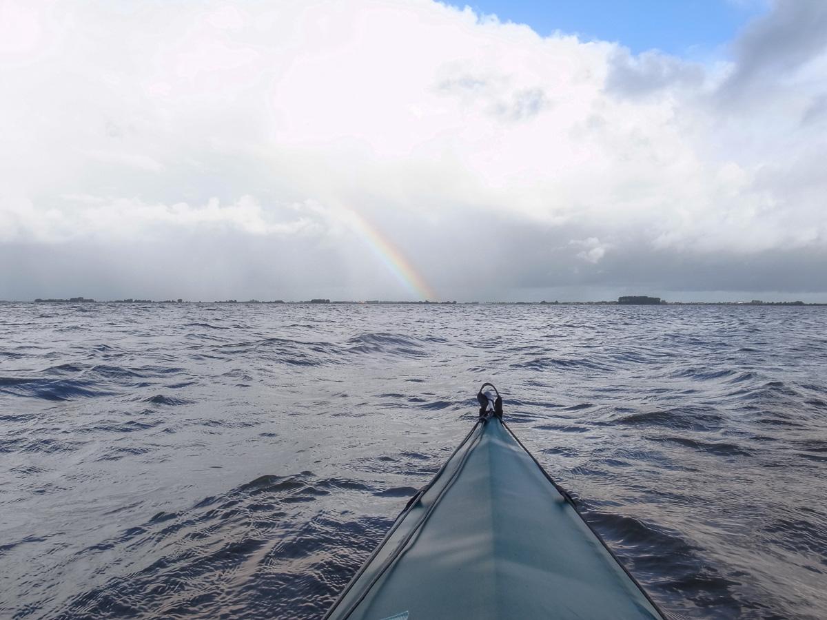 Regenbogen über dem Slotermeer