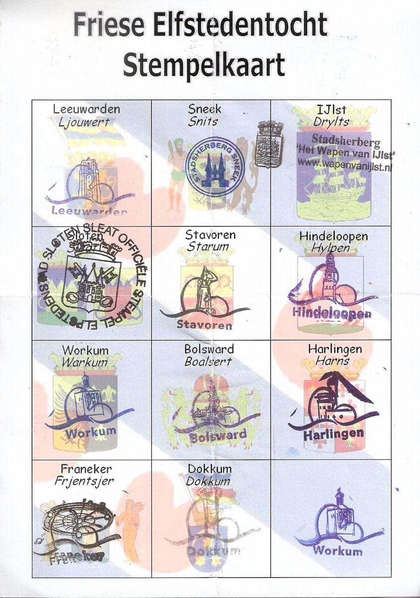 Stempelkarte
