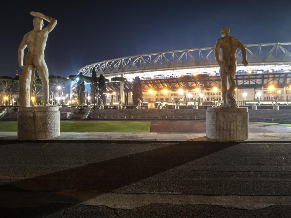 Olympiastadion Rom (Außenansicht)