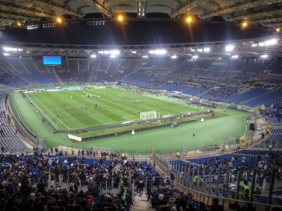 Olympiastadion Rom (Innenansicht)