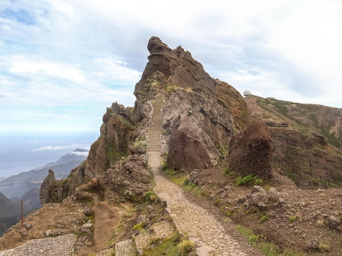 Nicht mehr weit zum Pico Ariero