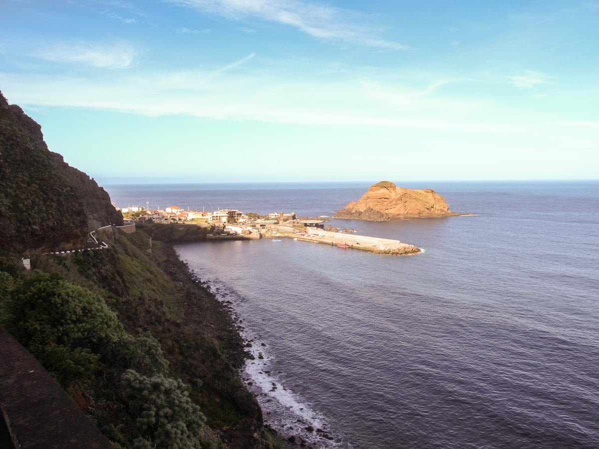 Porto Moniz in Sicht