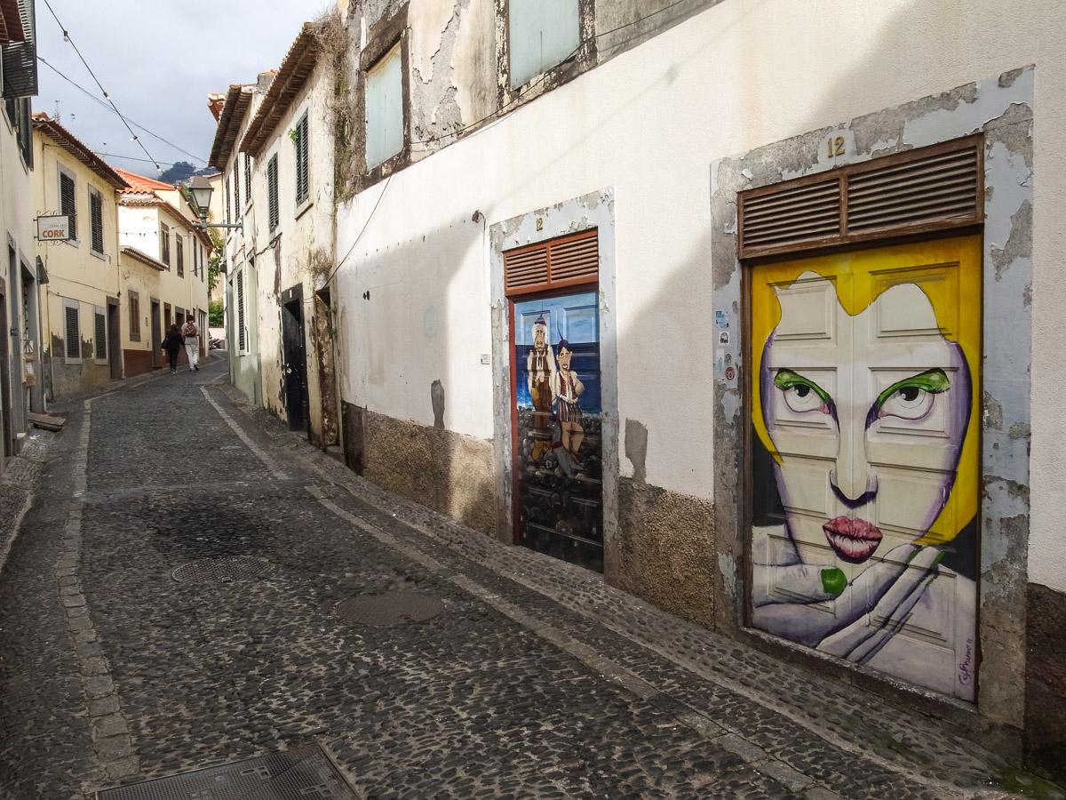 Malereien in der Altstadt von Funchal