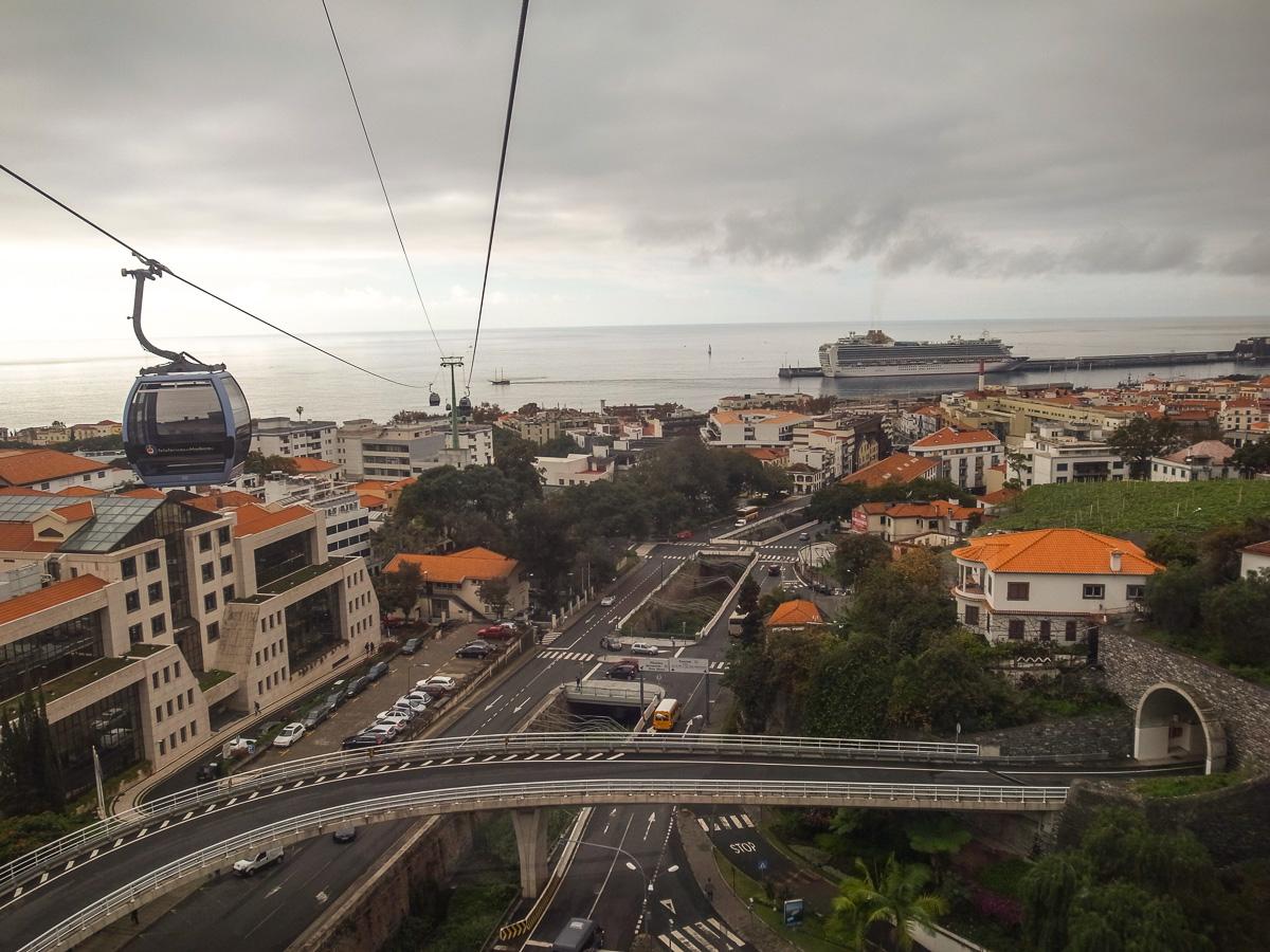 Seilbahn von Funchal nach Monte
