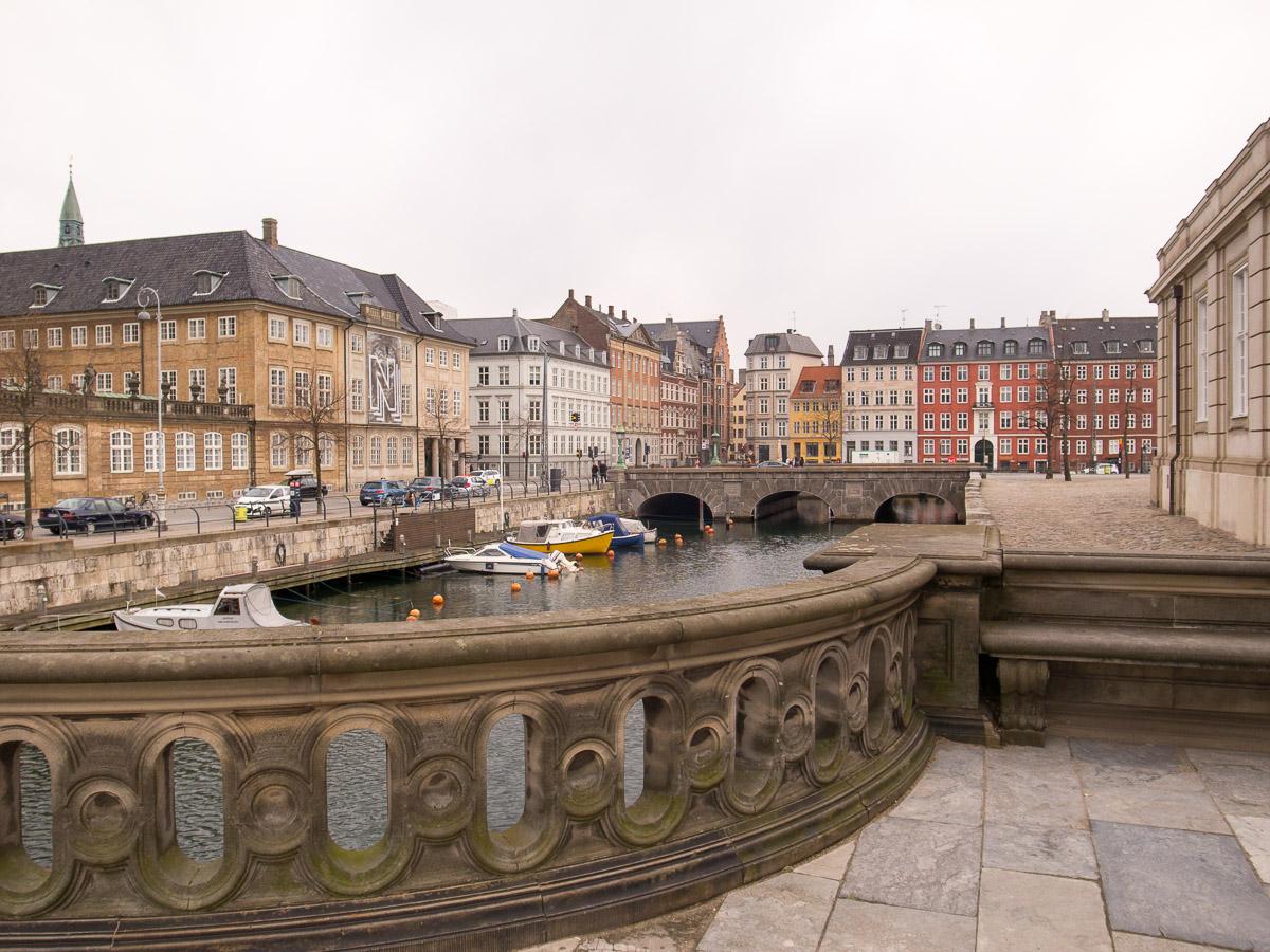 Blick von der Marmor Brücke