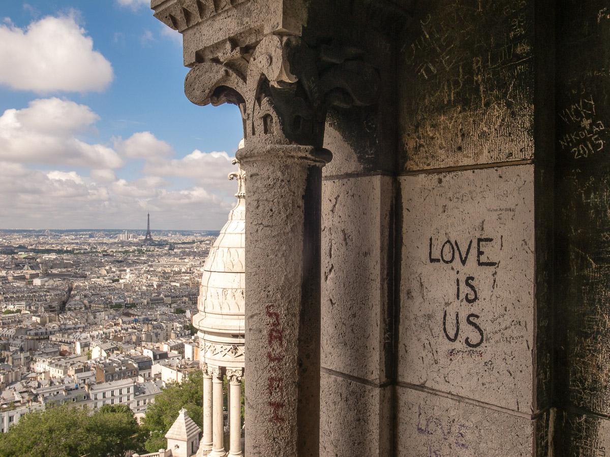 Ausblick von Sacre Coeur