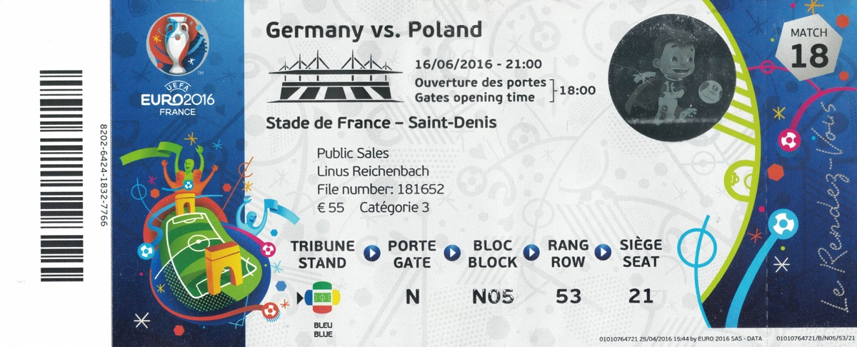 Ticket Stade de France