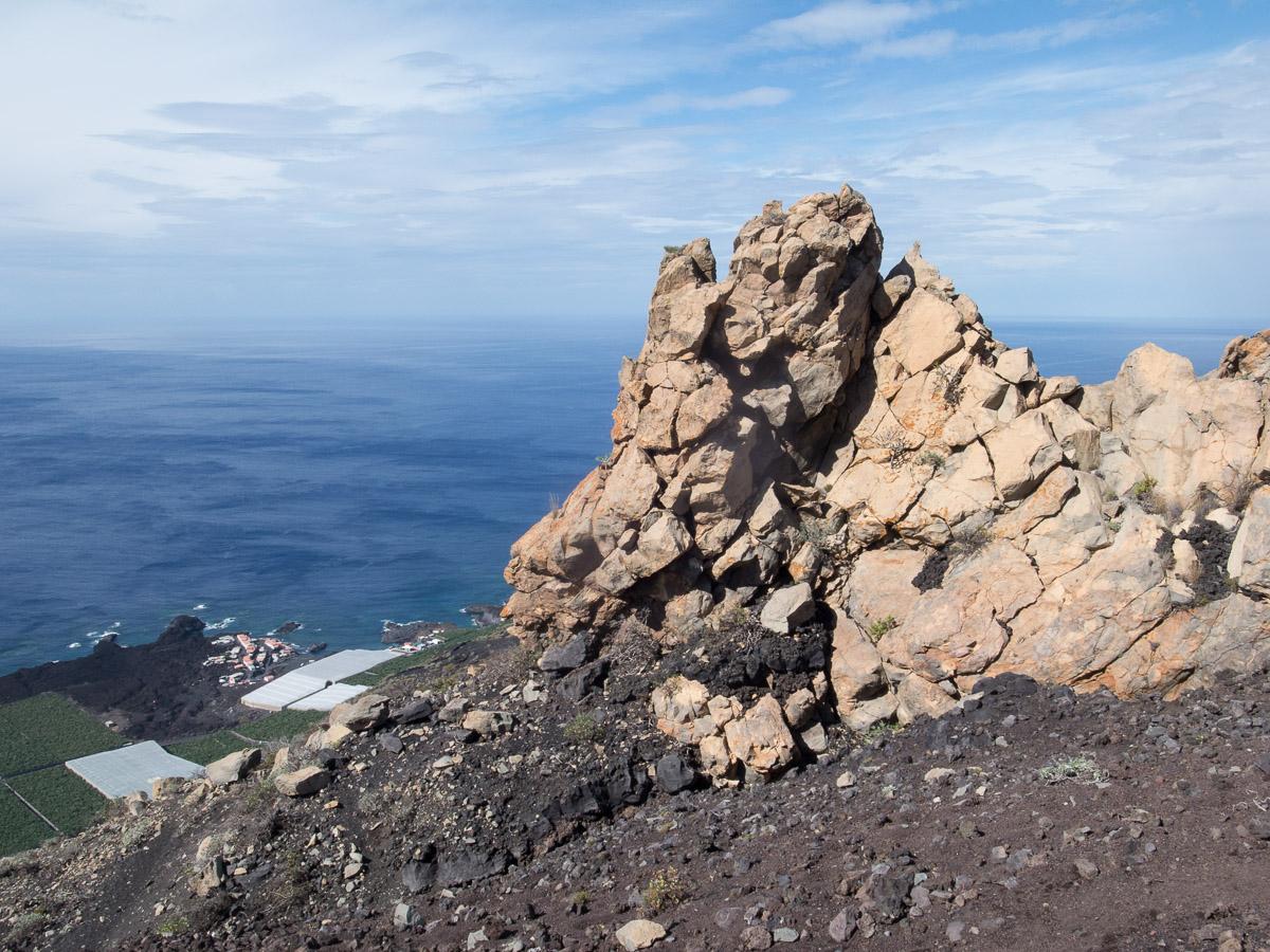 Vulkanlandschaft im Süden