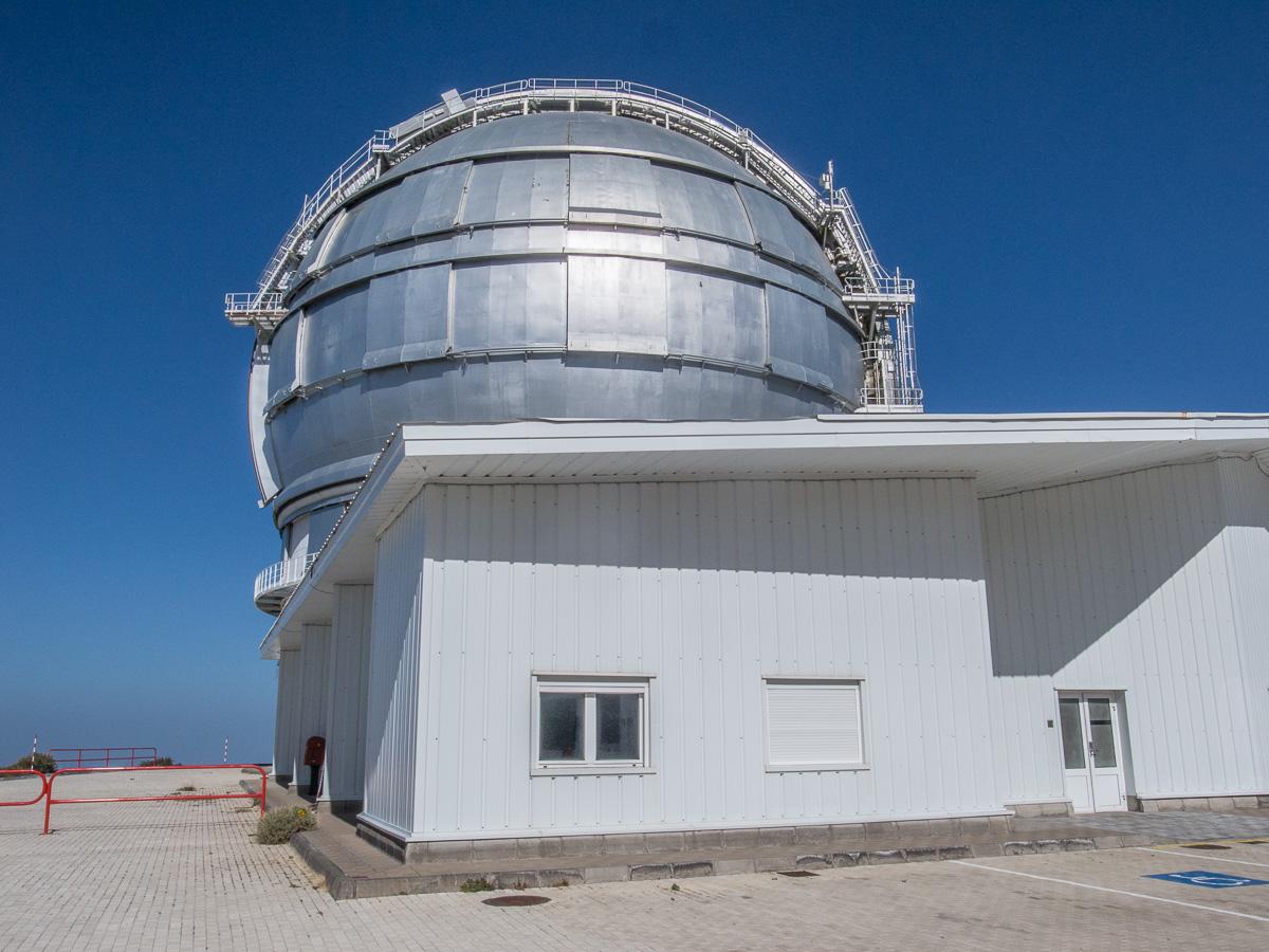 Spanisches Spiegelteleskop