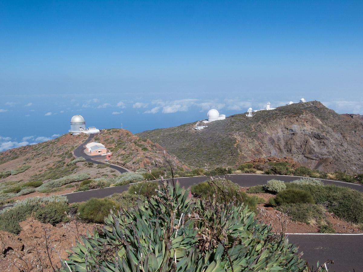 Teleskope auf dem Roque de los Muchachos