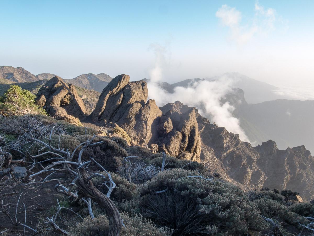 Wolkenspiel am Gipfel