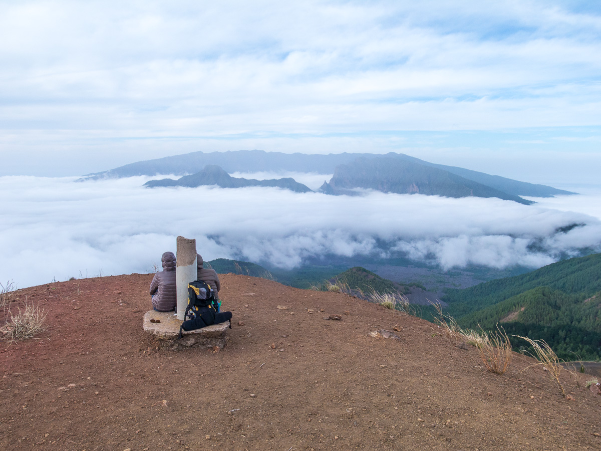 Blick vom Gipfel des Birigoyo