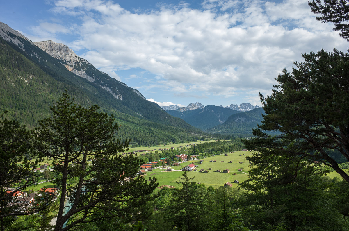 Abstieg vom Grünkopf