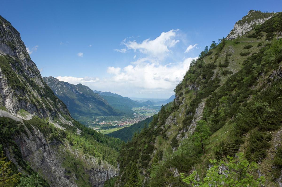 Höllentalangerhütte zum Kreuzeck