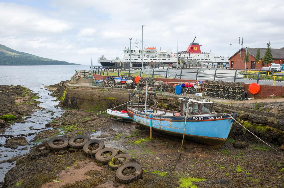 Hafen von Brodick