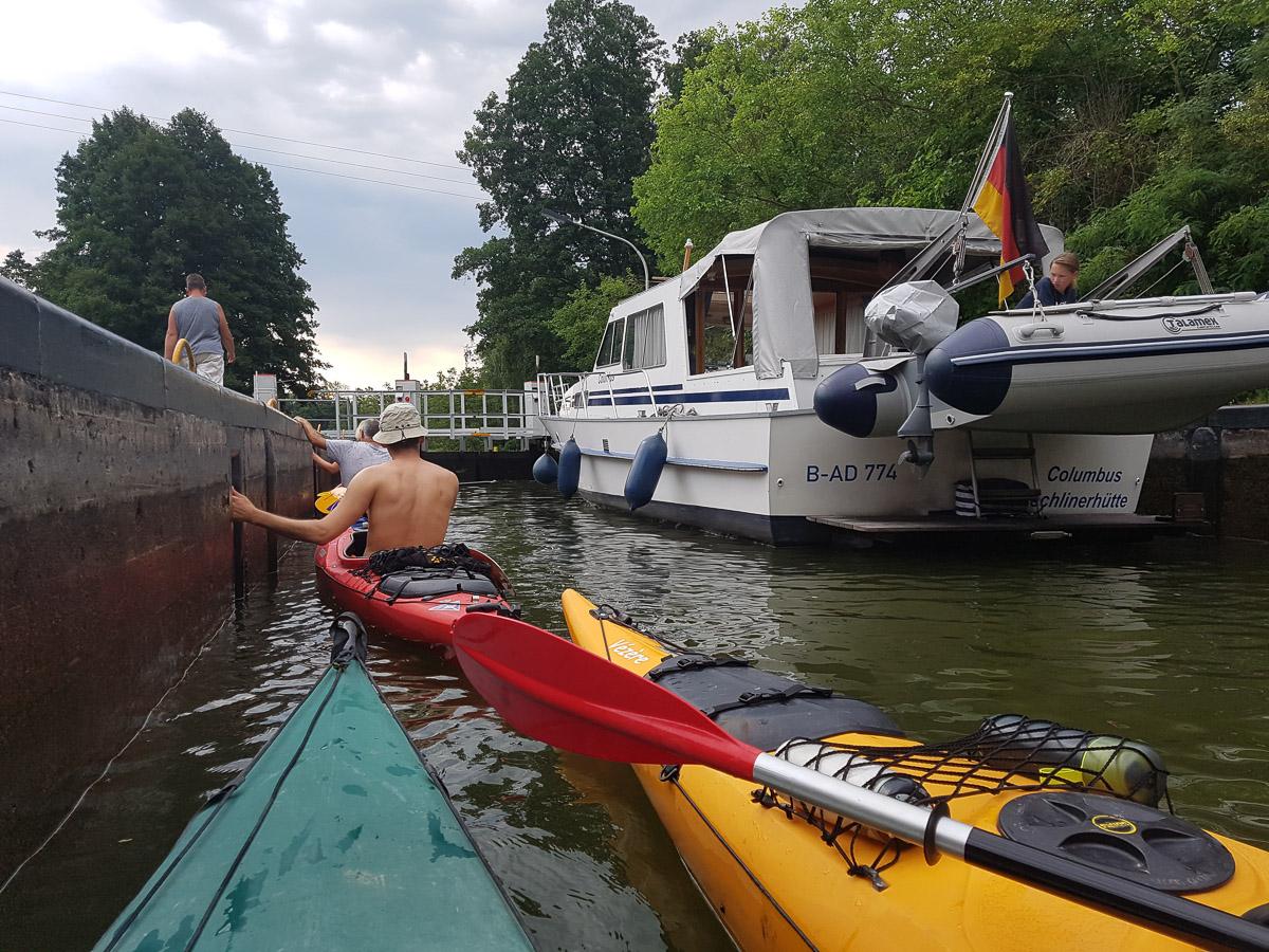 Schleuse Canow